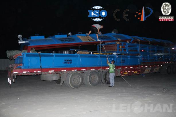 corrugated paper mill delivery site