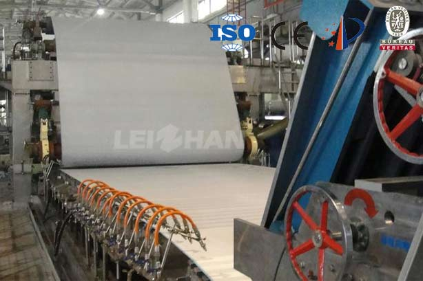 1880mm Double Cylinders Double Wire Paper Machine